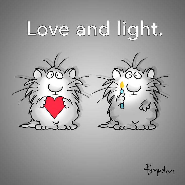 Love and light. Sandra Boynton