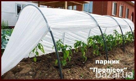 """Доставка в любой регион Украины.  Парник """"Пролісок"""" длиной 4 метра, 6 метров и 8 метров.  Характеристики:  защищает урожай от дождя, града,..."""