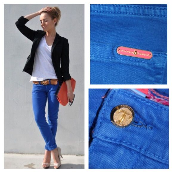 Ivanka Trump Bright Blue Jeans Stand out in these bright spring pants! Nice with heels, flats or sneakers! 15% bundle discount. Ivanka Trump Jeans
