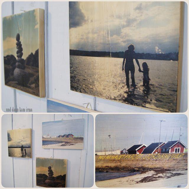 Fotos auf Holz übertragen Tutorial