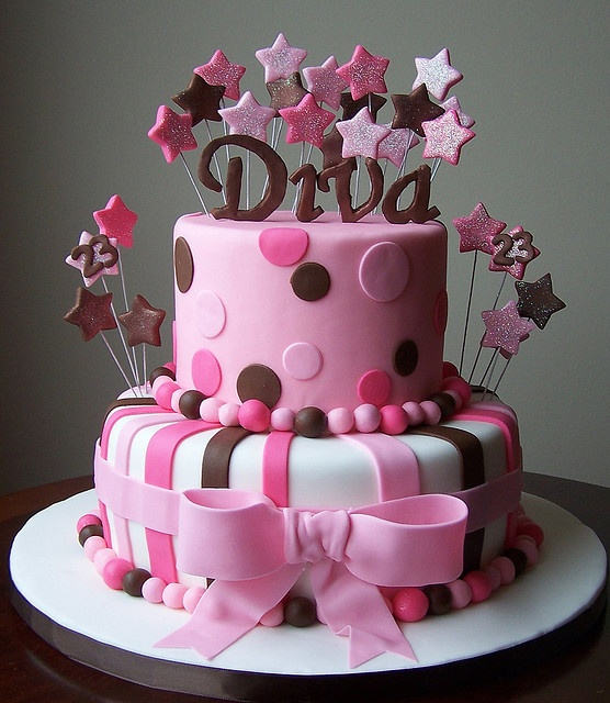 diva birthday cake cake cakes and cookies 40 cumplea 241 os 3579
