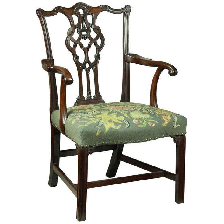 chippendale stílusú antik bútor