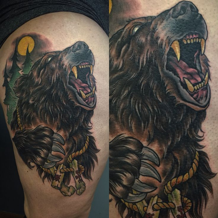 Brown Bear Berzerker