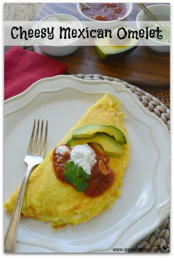 This Cheesy Mexican Omelet recipe hits all the right notes – cheesy, mildly spicy, savory – so good for breakfast, lunch…