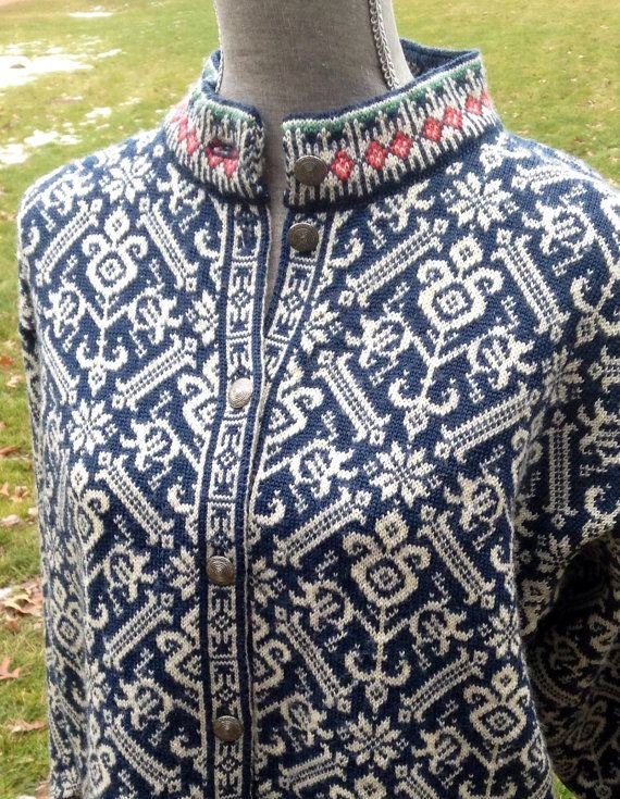 Dale of Norway Norwegian wool sweater by Vikingraids on Etsy, $110.00