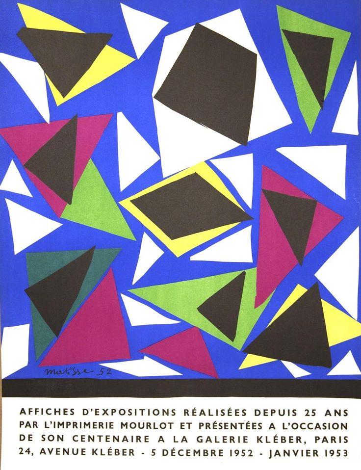 1952 Matisse Affiches d'exposition Mourlot Lithograph
