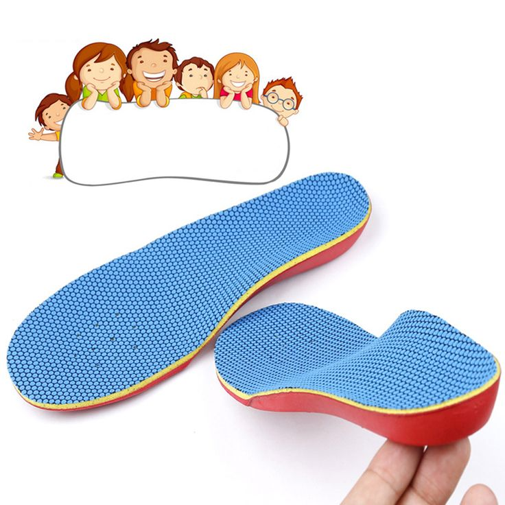 2-4Y Kid Orthotic Orthotics Orthopedic Insoles Foot Care Flat Foot Arch Support Shoe Insoles Pads Flatfeet Pain Relief 28-31