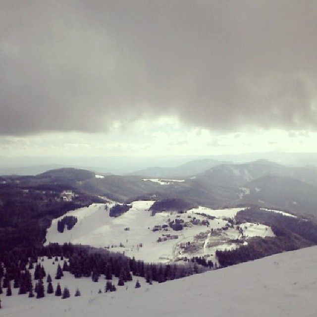 ZIMA na Donovaloch.  Winter in Slovakia.
