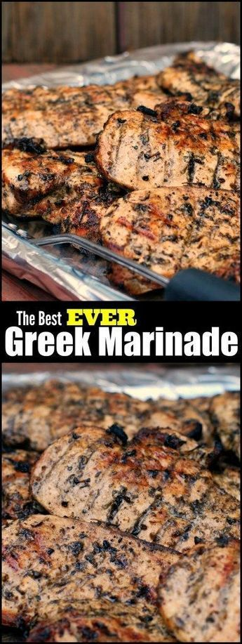 This Greek marinade is the best ever! After years and years of trying hundreds of different marinades I have finally found THE SECRET to the juiciest grilled chicken! SO EASY!