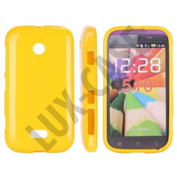 Nokia Lumia 510 Suojakotelo - Keltainen