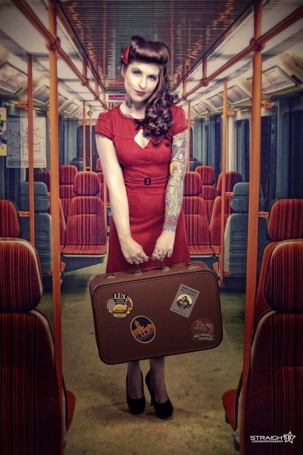 railway pin up girls - Google Search | Pin-up on the ...