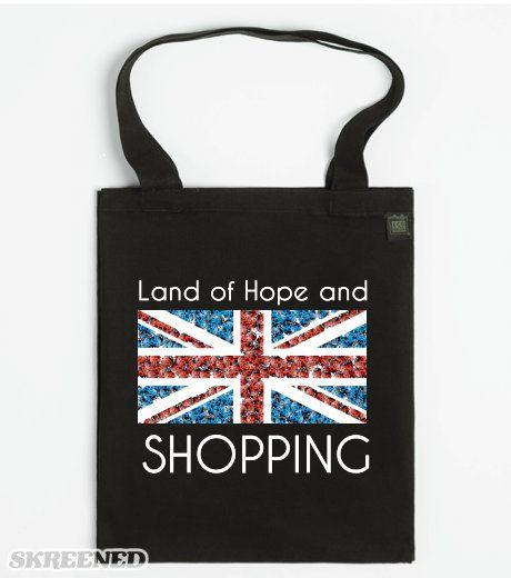 Land of Hope and Shopping - ECO Tote bags
