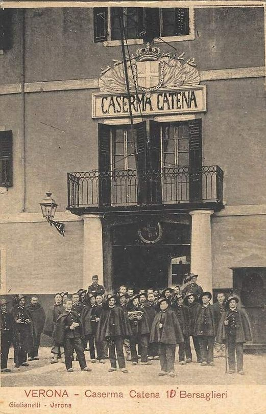Verona - Caserma Catena - 10° Bersaglieri