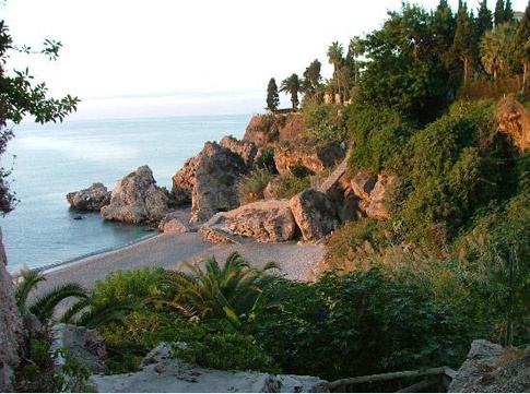 Nerja, Spain; Arguably one of the prettiest parts of the Costa del Sol