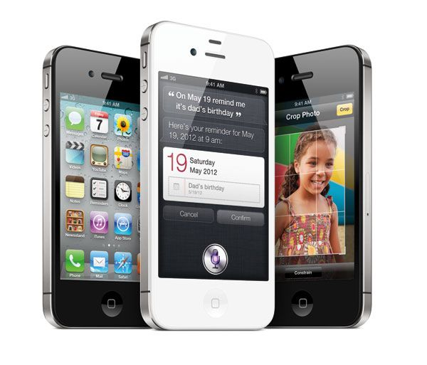 The COOL NEW iPhone 4S with Voice Command extraordinaire! #iPhone4S