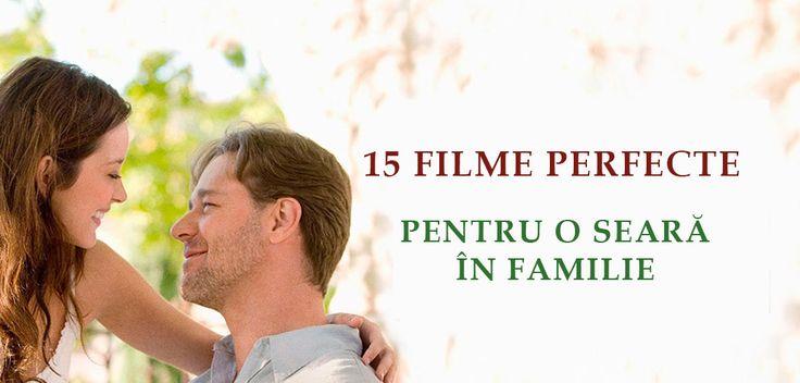 Ți-am pregătit o listă de 15 filme inspiraţionale, amuzante sau pe alocuri dramatice dar care sunt cel mai bine digerate alături de cei dragi.