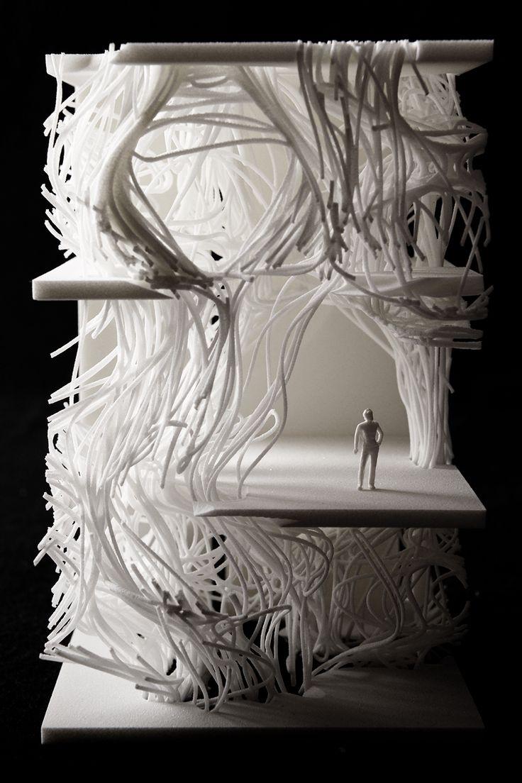 "Julia GOTTSTEIN, ""The Volumetric Column."" Model."