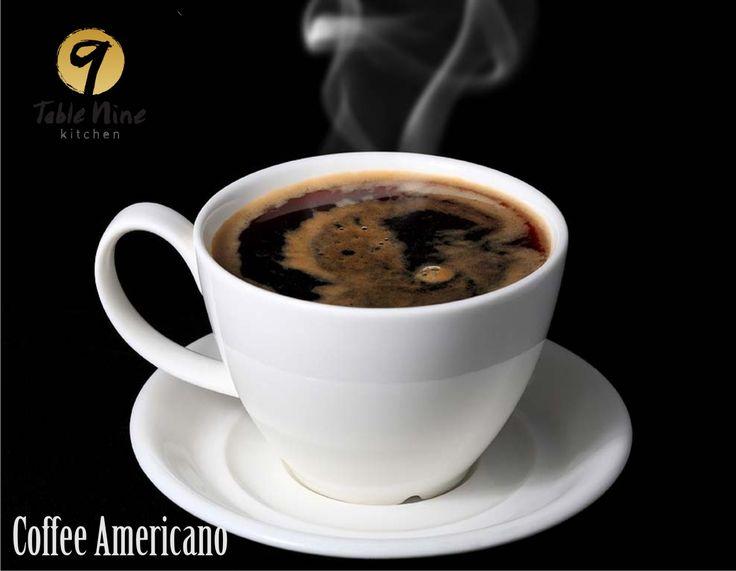 """Segelas """"Coffee Americano""""sangat pas untuk Menemani istirahat Santai anda"""