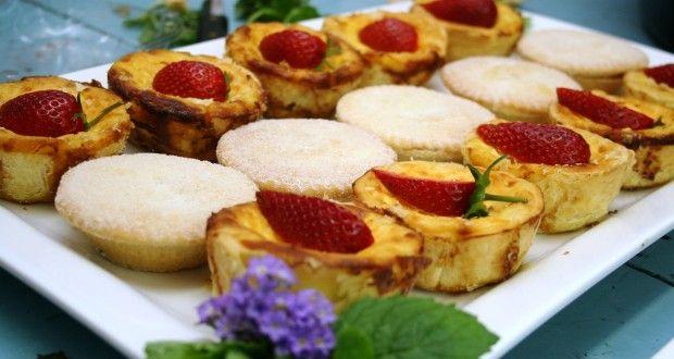 Custard tarts | Imagination Food Design - Port elizabeth