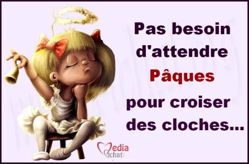 173 best humour images on pinterest minions quotes funny pics and funny images - Cloches de paques ...