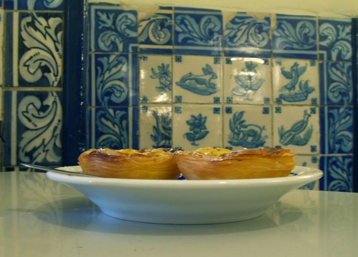 Inside the Pasteis de Belem  Caffee  - Lisbon