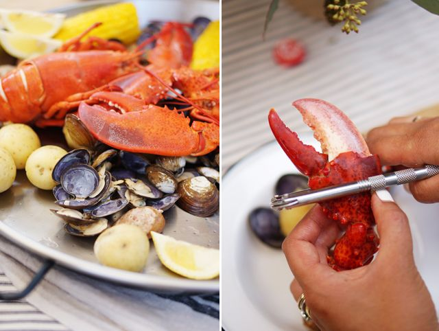 It's the perfect day for a lobster boil! Check out this great step by step guide to recreate this classic Maine experience at your own home! #MaineLobster #Recipes #HowTo