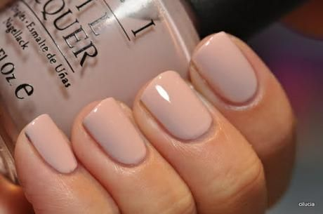 OPI Samoan Sand. I got my nails done with this nail color for Prom
