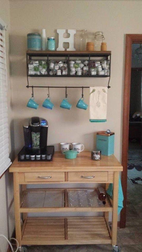 Se você aprecia a bebida, fazer em casa um cantinho especial para o momento do cafezinho pode ser uma boa ideia! Inspire-se e providencie...