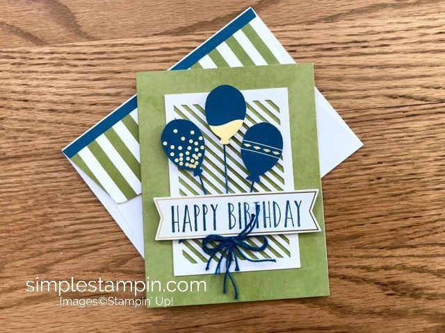 Shazam...the perfect solution! - Simple Stampin