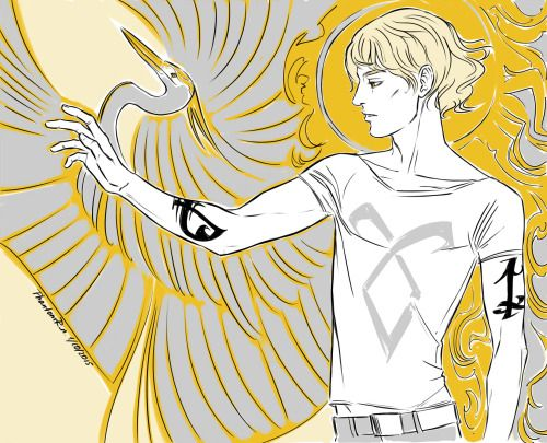 "Jace Herondale (the golden boy))(""the Mortal Instruments"" by Cassandra Clare)"