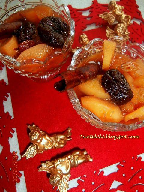 Tante Kiki: Ζεστή κομπόστα με φρέσκα και ξερά φρούτα