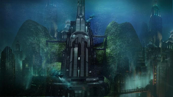 Bioshock - Rapture City Building by Jan Paul Tomilloso at Coroflot.com