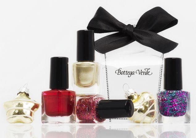 #BottegaVerde presenta Diamond Collection i nuovi smalti per #Natale e #Capodanno  @bottegaverde