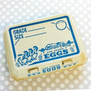 Ordering these now - how cute! $1 each and I'll fill them with cake ball 'eggs' and treats! Neighbor gifts. They have blank ones too :-)