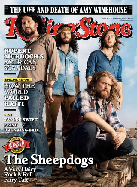 The Sheepdogs - kinda having a little music crush on them at the moment...
