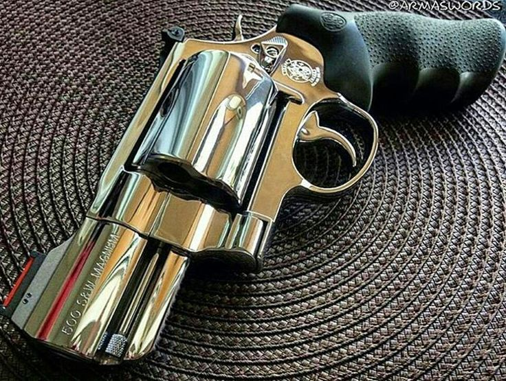 Smith & Wesson polished S&W 500 ES 500 S&W Magnum