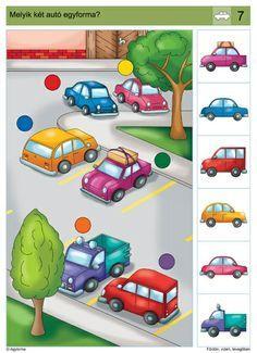 visuele discriminatie voor kleuters / preschool visual discrimination