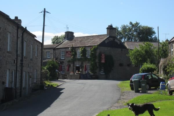 The Bolton Arms Inn, Redmire, The Yorkshire Dales. Log fire, pet friendly. www.iknow-yorkshire.co.uk