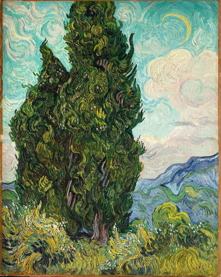 Кипарисы | Cypresses, июнь 1889 | june 1889