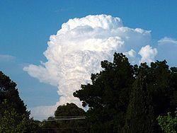 Cumulonimbus cloud - Wikipedia, the free encyclopedia