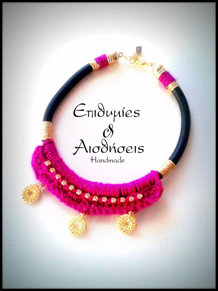 Epithimies kai Aisthiseis Bohemian handmade necklace