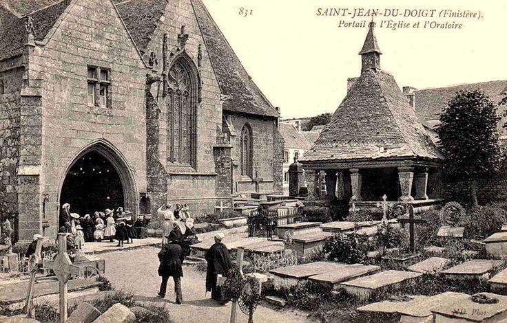 Ville de Saint-Jean-du-Doigt (Bretagne)