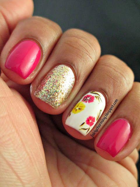 Fairly Charming #nail #nails #nailart