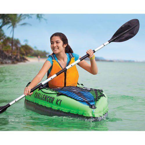 Intex Challenger 1 person Kayak - River and Lake Recreation http://www.intheswim.com/p/intex-challenger-1-person-kayak