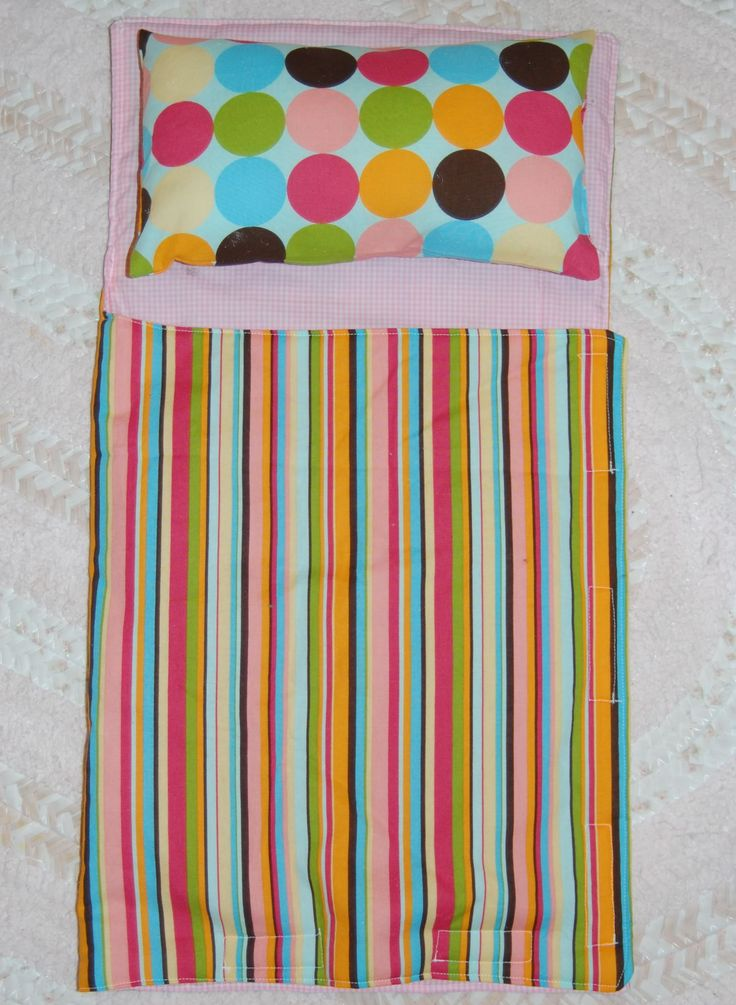 Just Deanna: Sew a quick doll's sleeping bag