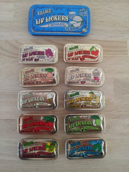 Lip Lickers lip balm. Wow! Completely forgot about these!