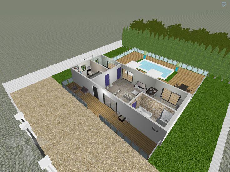 Plan 3D : Chambre Logiciel : Home Design 3D Gold | Architecture | Pinterest  | 3d And Architecture