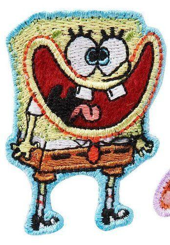 Gutzy Gear Patch Spongbob Squarepants 01 @ niftywarehouse.com #NiftyWarehouse #Spongebob #SpongebobSquarepants #Cartoon #TV #Show