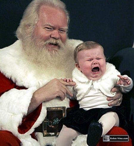 The 25 Most Awkward Photos With Santa