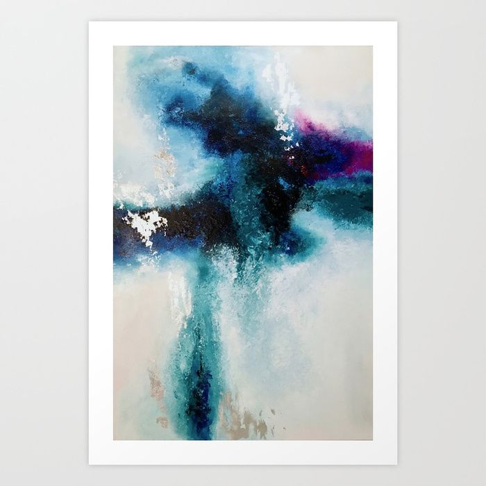Broken Unicorn Art Print by sophie_lemieux | Society6